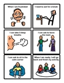 Social Story Cards: Calming Strategy