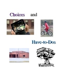Social Story- Choices and Have-to-Dos