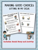 Social Story: Classroom Behavior (Autism/Behavior)