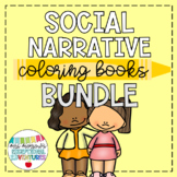 Social Story Coloring Books BUNDLE