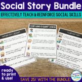 Social Story Complete Bundle