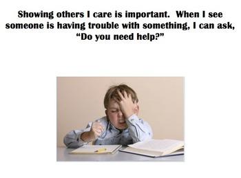 Social Story - Do you need help?