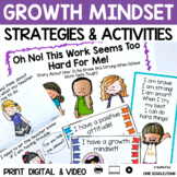 Social Story Doing Hard Things Print Digital Video