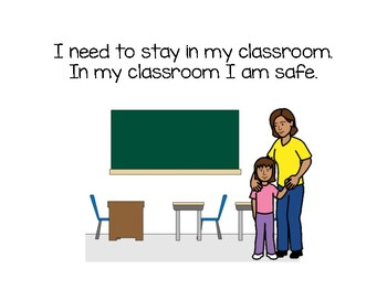 Social Story- Don't Leave the Classroom