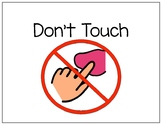 Social Story-Don't Touch
