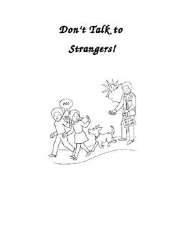 Social Story: Don't Talk To Strangers