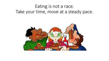 Social Story: Eating Slow