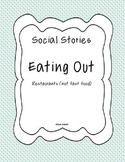 Social Story - Eating out, restaurants