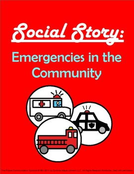 Social Story: Emergencies in the Community