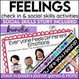 Social Story Feelings Print Digital Video For Distance Learning