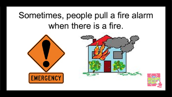 Social Story (Autism) - Special Education: Fire Alarms at School