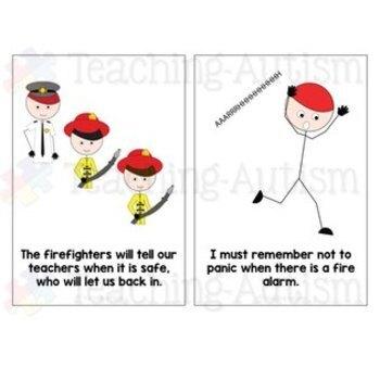 Social Story Fire Drill