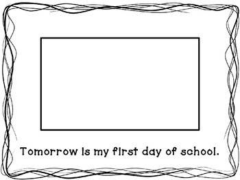 Social Story: First Day of School (part 1)