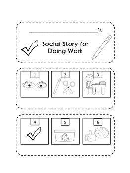 Social Stories: Flip Books! {12 Visual Stories for Students with Special Needs}