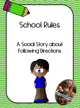 Social Story: Following Directions Boy Version