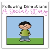 Social Story: Following Directions [Community-Based Instruction and Field Trips]