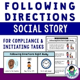 Social Story - Following Directions Right Away