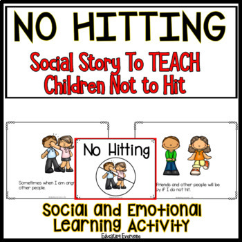 Social Story For Children No Hitting 3083326 on 8 Printable Math Worksheets