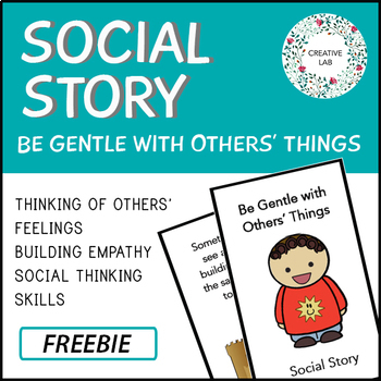 Social Story - Freebie (Behavior)