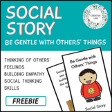 Behavior Social Story - Breaking Others' Things