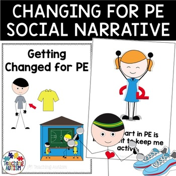 Social Story - Getting Changed for PE