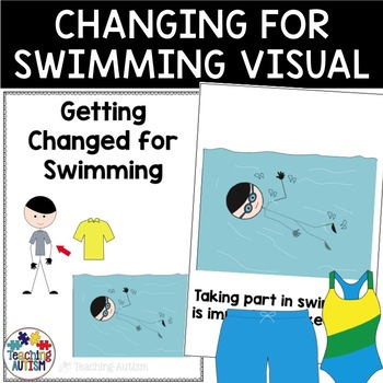 Social Story - Getting Changed for Swimming