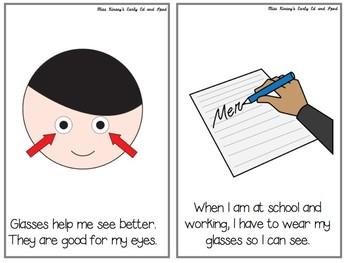 Social Story: Glasses