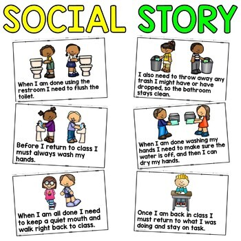 Social Story: Going To The Bathroom