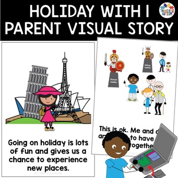 Social Story Going on Holiday with 1 Parent