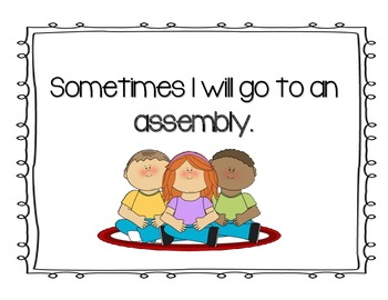 Social Story- Going to Assemblies
