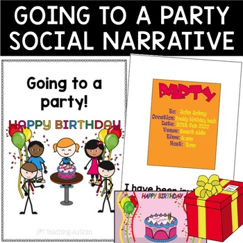 Social Story - Going to a Party