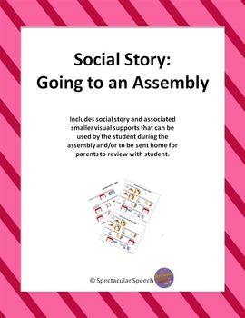 Social Story - Going to an Assembly