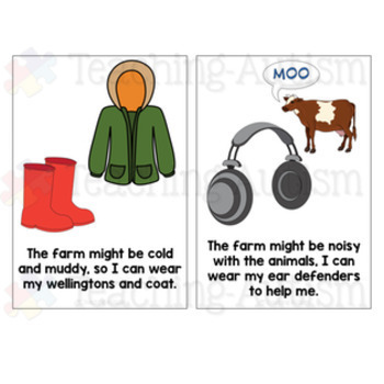 Social Story - Going to the Farm