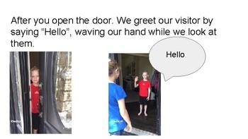 Social Story Greeting Visitors