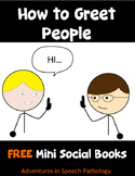 How to Greet People: Social Story