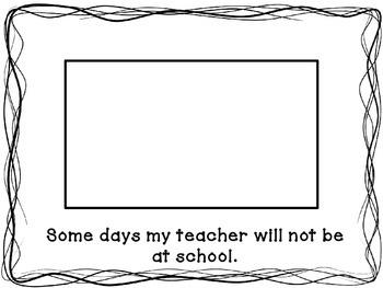 Social Story: Guest Teachers