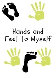Social Story - Hands and Feet to Self