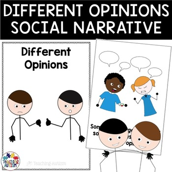 Social Story Having Different Opinions
