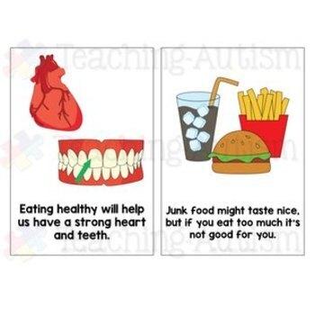 Social Story - Healthy Eating