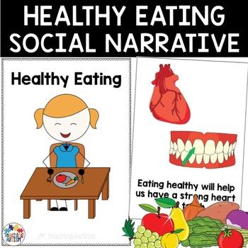 Social Story Healthy Eating