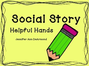 Social Story: Helpful Hands