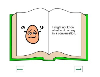 Social Story- How to have a conversation