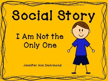 Social Story: I Am Not the Only One