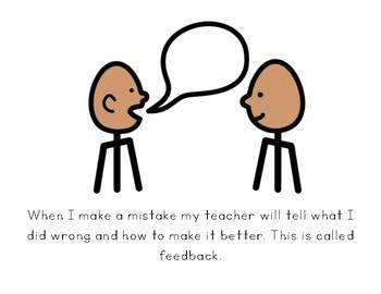 Social Story- I Can Accept Feeback
