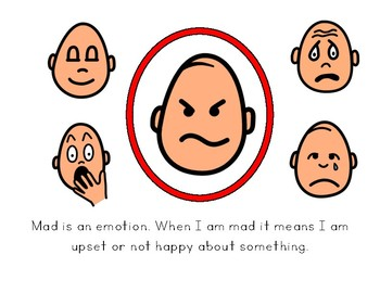 Social Story: I Can Be Mad