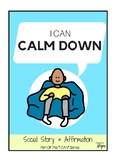 I Can Calm Down - Social Story For Kids With Autism