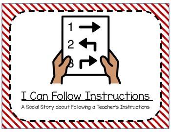 Social Story- I Can Follow Instructions