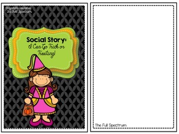Social Story: I Can Go Trick or Treating