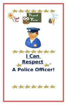 "Social Story- ""I Can Respect A Police Officer"""