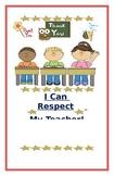 "Social Story- ""I Can Respect My Teacher"""